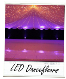 Hire LED Dancefloors in Glasgow